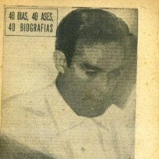 Coleccionismo deportivo: MARIANO MARTÍN, EL HOMBRE GOL (MARCA, 1964). Lote 35233446