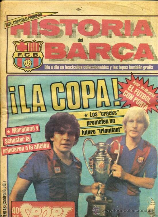 DIARIO SPORT 1 JULIO 1983 - LA COPA - MARADONA, SCHUSTER (Coleccionismo Deportivo - Revistas y Periódicos - Sport)