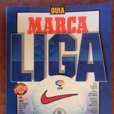 Coleccionismo deportivo: REVISTA GUIA MARCA LIGA 97 98 COMO NUEVA REPORTAJES DE FUTBOL NOTICIAS EQUIPOS JUGADORES ETC . Lote 35434462