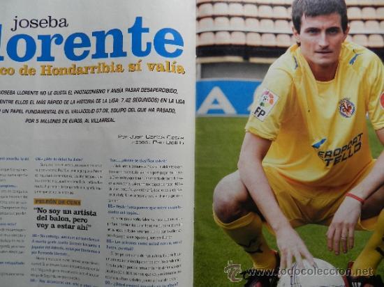 Coleccionismo deportivo: DON BALON 2008 - LAPORTA DANI ALVES - FC BARCELONA - CRISTIANO RONALDO - JOSEBA LLORENTE GARATE - Foto 6 - 35563455