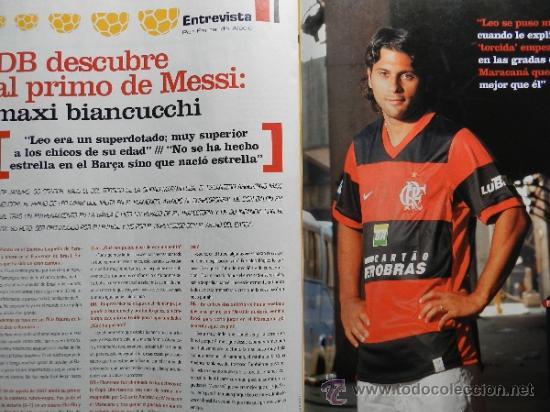 Coleccionismo deportivo: DON BALON 2008 - LAPORTA DANI ALVES - FC BARCELONA - CRISTIANO RONALDO - JOSEBA LLORENTE GARATE - Foto 10 - 35563455