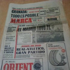 Coleccionismo deportivo: DIARIO MARCA . FECHA 10 DE ABRIL DE 1972. Lote 35589318