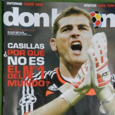 Coleccionismo deportivo: DON BALON 2008 - IKER CASILLAS - VALENCIA CF - JOSEBA LLORENTE - PALERMO - JUANDE BETIS - . Lote 35611150