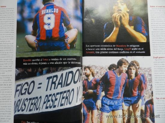Coleccionismo deportivo: DON BALON 2008 - GUDJOHNSEN FC BARCELONA - ABBIATTI ATLETICO - VAN NISTELROOY REL MADRID RACING - Foto 3 - 35613965