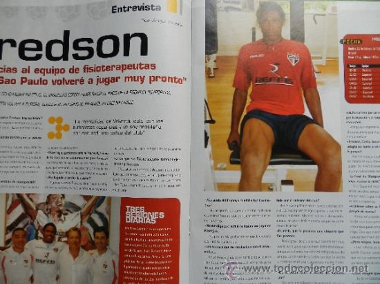 Coleccionismo deportivo: DON BALON 2008 - GUDJOHNSEN FC BARCELONA - ABBIATTI ATLETICO - VAN NISTELROOY REL MADRID RACING - Foto 6 - 35613965