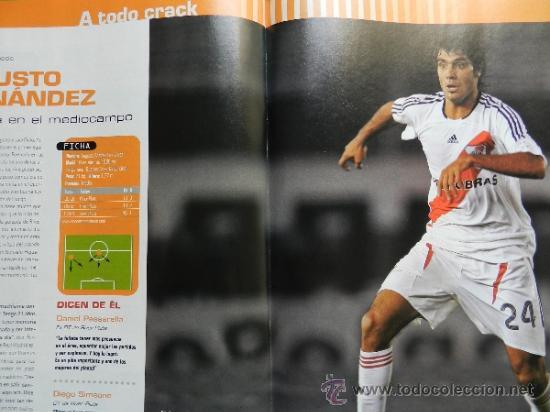 Coleccionismo deportivo: DON BALON 2008 - GUDJOHNSEN FC BARCELONA - ABBIATTI ATLETICO - VAN NISTELROOY REL MADRID RACING - Foto 8 - 35613965