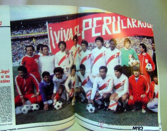 Coleccionismo deportivo: REVISTA DE FUTBOL, DON BALON, M82, MUNDIAL 82, Nº 5, GRADESA, POSTER CENTRAL SELECCION PERU - Foto 2 - 35788900