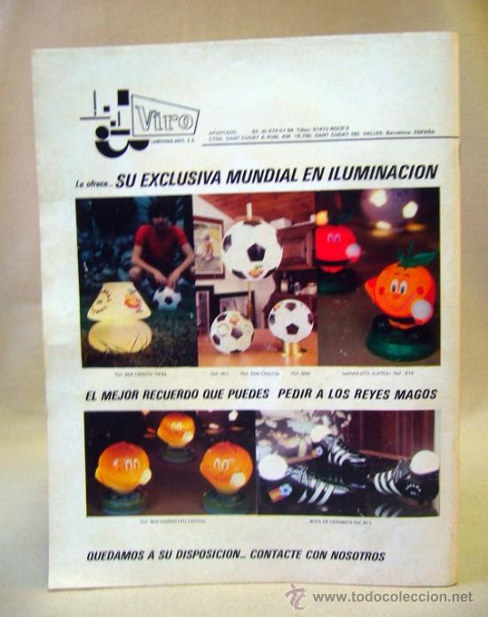 Coleccionismo deportivo: REVISTA DE FUTBOL, DON BALON, M82, MUNDIAL 82, Nº 5, GRADESA, POSTER CENTRAL SELECCION PERU - Foto 3 - 35788900