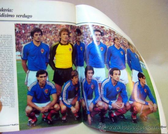 Coleccionismo deportivo: REVISTA DE FUTBOL, DON BALON, M82, MUNDIAL 82, Nº 8, GRADESA, POSTER CENTRAL SELECCION YUGOSLAVIA - Foto 2 - 35783951