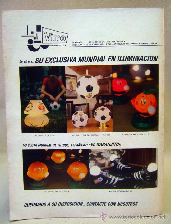 Coleccionismo deportivo: REVISTA DE FUTBOL, DON BALON, M82, MUNDIAL 82, Nº 8, GRADESA, POSTER CENTRAL SELECCION YUGOSLAVIA - Foto 3 - 35783951