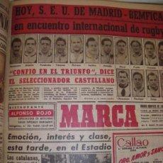 Collectionnisme sportif: MARCA DIARIO GRÁFICO DE LOS DEPORTES 41 NÚMEROS CORRELATIVOS ENCUADERNADOS. Lote 35775352