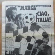Colecionismo desportivo: SUPLEMENTO DIARIO MARCA MUNDIAL ITALIA 90 ESPECIAL RESUMEN COPA DEL MUNDO WC 1990 - EXTRA WORLD CUP. Lote 35778378
