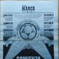 Coleccionismo deportivo: SUPLEMENTO ESPECIAL GUIA MARCA LIGA 94/95 - EXTRA TEMPORADA 1994/1995 - . Lote 35778916