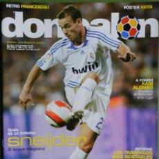 Coleccionismo deportivo: DON BALON 2007 SNEIJDER REAL MADRID-XABI ALONSO-MARK GONZALEZ BETIS-ESPAÑA MUNDIAL SUB 17- . Lote 35889035