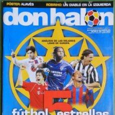 Coleccionismo deportivo: DON BALON 2006 LUCA TONI-ROBINHO REAL MADRID-JESUS NAVAS SEVILLA FC-DELPORTE OSASUNA-HUNTELAAR-. Lote 35993620