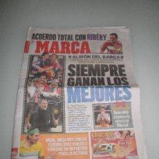 Coleccionismo deportivo: DIARIO MARCA 7 MAYO DE 2009 (56 PÁGINAS). Lote 36151877