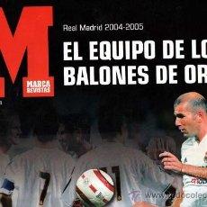 Coleccionismo deportivo: ESPECIAL MARCA REAL MADRID 2004-2005. Lote 36274192