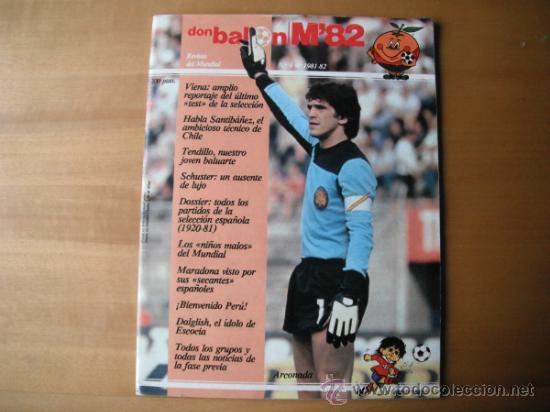 REVISTA DON BALON . M´82 Nº 4. REVISTA DEL MUNDIAL. (Coleccionismo Deportivo - Revistas y Periódicos - Don Balón)