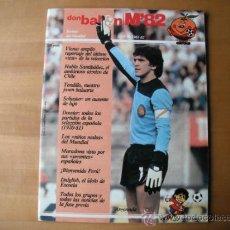 Coleccionismo deportivo: REVISTA DON BALON . M´82 Nº 4. REVISTA DEL MUNDIAL.. Lote 36306739