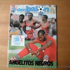 Coleccionismo deportivo: REVISTA DON BALON Nº 461. DEL 7 AL 13.08.1984. Lote 36308119