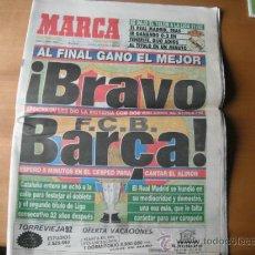 Coleccionismo deportivo: PERIODICO MARCA. BRAVO BARÇA. 08.06.1992. Lote 36309608