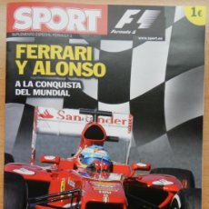 Coleccionismo deportivo: GUIA DIARIO SPORT FORMULA 1 2013 - MUNDIAL COCHES - FERRARI FERNANDO ALONSO - F1. Lote 36326682