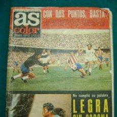 Coleccionismo deportivo: REVISTA AS COLOR Nº 103 MAYO 1973 LIGA FÚTBOL, LEGRÁ, BOXEO, PÓSTER ATHLETIC. Lote 36450774
