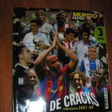 Coleccionismo deportivo: MUNDO DEPORTIVO-LIGA DE CRACKS-2007-2008. Lote 27242346