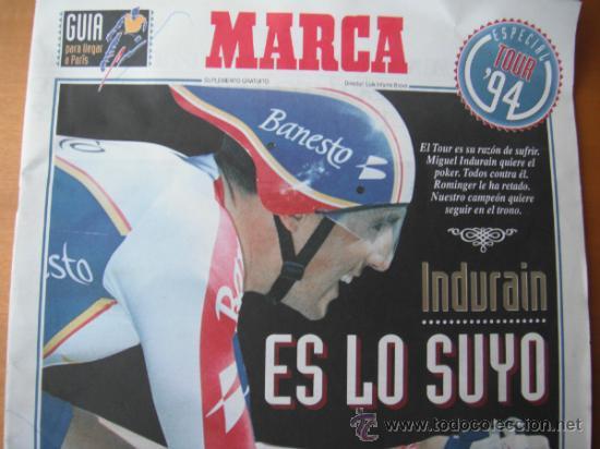 GUIA MARCA. ESPECIAL TOUR 1994. VER FOTOS ADICIONALES. (Coleccionismo Deportivo - Revistas y Periódicos - Marca)