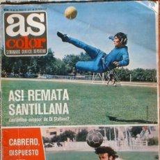 Coleccionismo deportivo: AS COLOR SEMANARIO GRÁFICO DEPORTIVO. Nº 12 10 DE AGOSTO 1971.. Lote 36909224