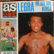 Coleccionismo deportivo: AS COLOR SEMANARIO GRÁFICO DEPORTIVO. Nº 13 17 DE AGOSTO 1971.. Lote 36909307