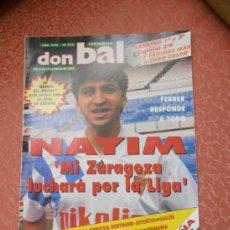 Coleccionismo deportivo: REVISTA DON BALON - AÑO 1993 - ESPECIAL 2ªB . Lote 37020560