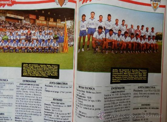 Coleccionismo deportivo: EXTRA DON BALON LIGA 88/89 - ESPECIAL GUIA LIGA FUTBOL TEMPORADA 1988/1989 - - Foto 5 - 37984565
