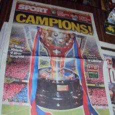 Coleccionismo deportivo: SPORT 12-5-2013 CAMPIONS. Lote 37300480