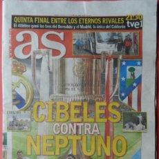 Coleccionismo deportivo: DIARIO AS - PREVIA FINAL ATLETICO DE MADRID CAMPEON COPA DEL REY 2012-2013 DECIMA ATLETI 12 13 . Lote 37308169
