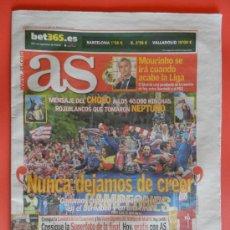 Coleccionismo deportivo: DIARIO AS CELEBRACION ATLETICO DE MADRID CAMPEON COPA DEL REY 2012-2013 - DECIMA ATLETI 12 13 . Lote 37308328
