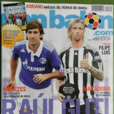 Coleccionismo deportivo - DON BALON 2010 RAUL-GUTI-OZIL-KHEDIRA-REAL MADRID-SOLDADO VALENCIA-ADRIANO BARÇA-PEDRO RIOS- - 37342026