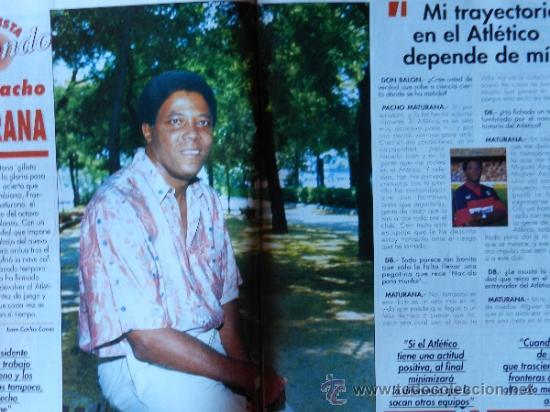 Coleccionismo deportivo: DON BALON 1994 FC BARCELONA-REAL MADRID-MATURANA ATLETICO DE MADRID-MOACIR SEVILLA-KARPIN-POSTER- - Foto 2 - 37376307