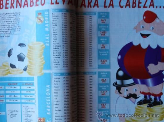 Coleccionismo deportivo: DON BALON 1994 FC BARCELONA-REAL MADRID-MATURANA ATLETICO DE MADRID-MOACIR SEVILLA-KARPIN-POSTER- - Foto 4 - 37376307