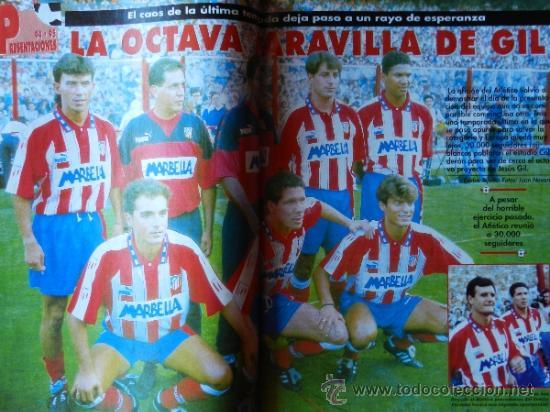 Coleccionismo deportivo: DON BALON 1994 FC BARCELONA-REAL MADRID-MATURANA ATLETICO DE MADRID-MOACIR SEVILLA-KARPIN-POSTER- - Foto 5 - 37376307