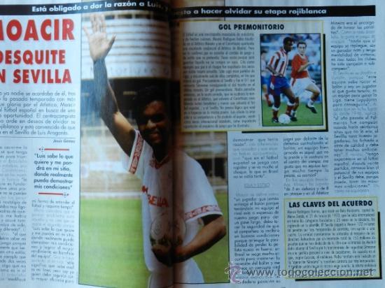 Coleccionismo deportivo: DON BALON 1994 FC BARCELONA-REAL MADRID-MATURANA ATLETICO DE MADRID-MOACIR SEVILLA-KARPIN-POSTER- - Foto 6 - 37376307