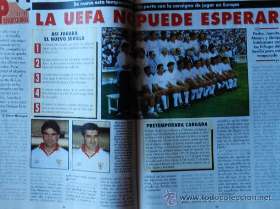 Coleccionismo deportivo: DON BALON 1994 FC BARCELONA-REAL MADRID-MATURANA ATLETICO DE MADRID-MOACIR SEVILLA-KARPIN-POSTER- - Foto 9 - 37376307