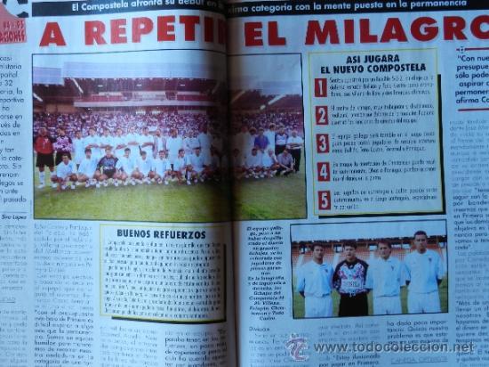 Coleccionismo deportivo: DON BALON 1994 FC BARCELONA-REAL MADRID-MATURANA ATLETICO DE MADRID-MOACIR SEVILLA-KARPIN-POSTER- - Foto 10 - 37376307