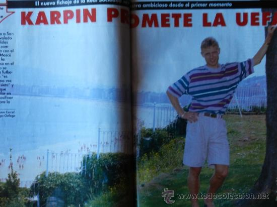 Coleccionismo deportivo: DON BALON 1994 FC BARCELONA-REAL MADRID-MATURANA ATLETICO DE MADRID-MOACIR SEVILLA-KARPIN-POSTER- - Foto 11 - 37376307