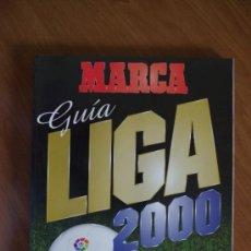 Coleccionismo deportivo: GUIA MARCA 2000. Lote 170397844