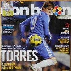 Coleccionismo deportivo: DON BALON 2011 FERNANDO TORRES-ADEBAYOR-ROSSI VILLARREAL-PRECIADO GIJON-BUSQUETS-BRAHIMI-ZIDANE-. Lote 37581394