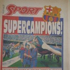 Collezionismo sportivo: SPORT BARÇA CAMPEÓN DE LIGA 1992. Lote 37615570