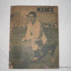Coleccionismo deportivo: MARCA Nº 409 1950 EN PORTADA PAHIÑO DEL REAL MADRID. Lote 37651130