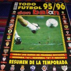 Coleccionismo deportivo: DON BALÓN EXTRA TODO FÚTBOL 95 96 1995 1996. 750 PTS. Y MUY DIFÍCIL!!!!!!!!!!. Lote 37896020