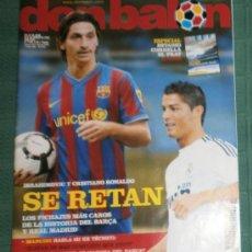 Coleccionismo deportivo: 2009 DON BALÓN Nº1762 - IBRAHIMOVIC Y CRISTIANO RONALDO SE RETAN Y +..... Lote 38227992